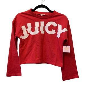 Size 10 NWT Juicy Couture Pixie Pink Track Jacket